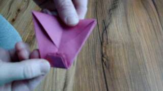 Origami Wheelbarrow (talk Thru)..paper Folding..
