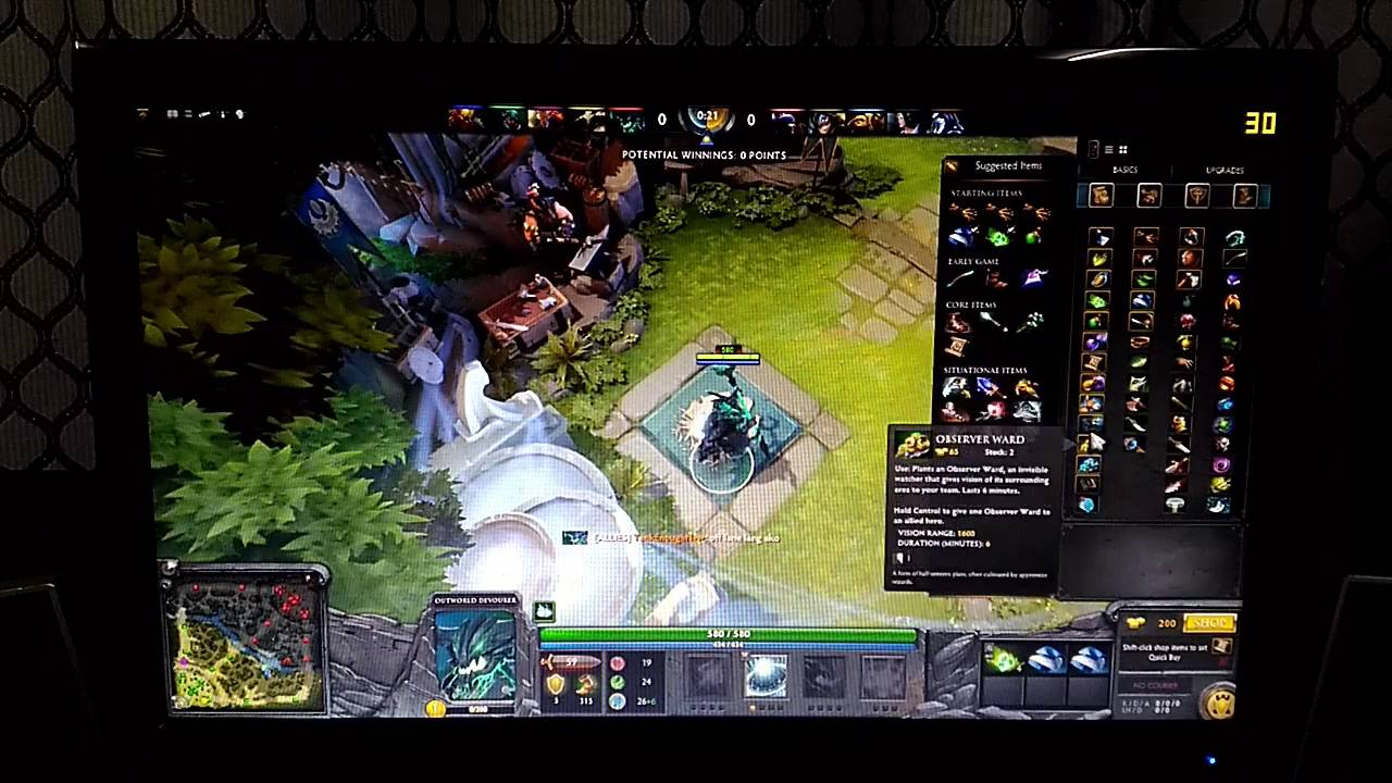 amd a8 7600 dota 2 gameplay ultra everything checked