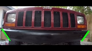 Jeep Cherokee Bumper Removal and Modification '97-01
