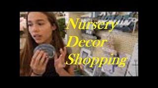 Buying Nautical Decor For New Reborn Baby Nursery At Hobby Lobby