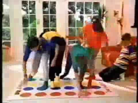 Twister Game Commercial