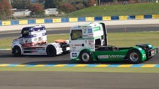 24 HEURES CAMIONS - Championnat Europe Camions FIA - circuit Bugatti du Mans 2015 - Course 1