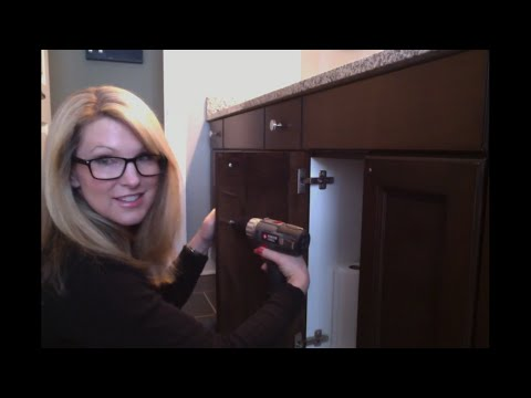 How To Install Cabinet Hardware Knobs And Pulls In 5 Minutes