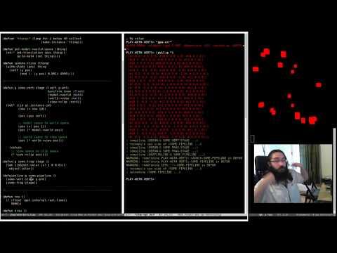 Pushing Pixels with Lisp - Episode 5 - Basic Lighting