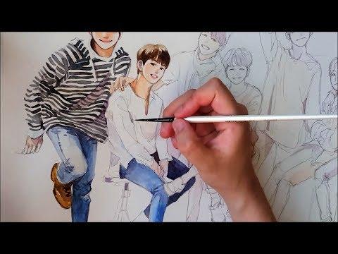 [BTS] BTS Festa Speedpain t