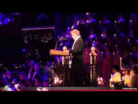 Disneyland Candlelight Ceremony With Kurt Russell -  December 8, 2013