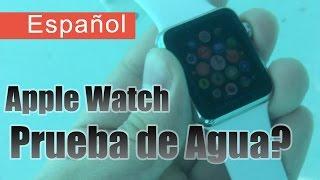 El Apple Watch es a Prueba de Agua? Prueba de Inmersión en Agua [Español]