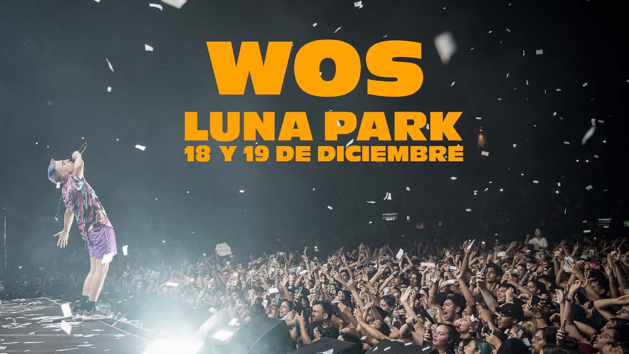 Wos Luna Park Registro Inédito Youtube
