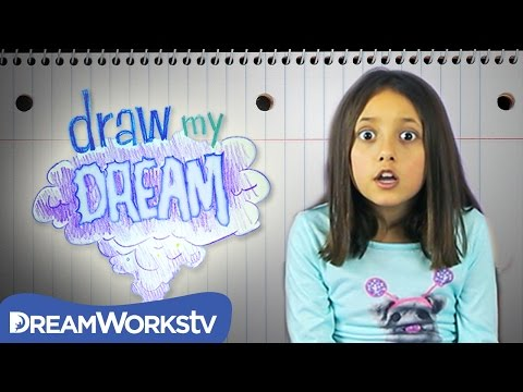 Thumbnail: Skylander Girl and the Candy Land Monster | DRAW MY DREAM