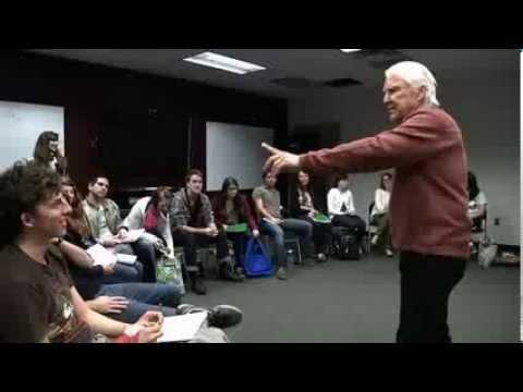 Anthony Zerbe master class at Florida State University  January 17, 2013