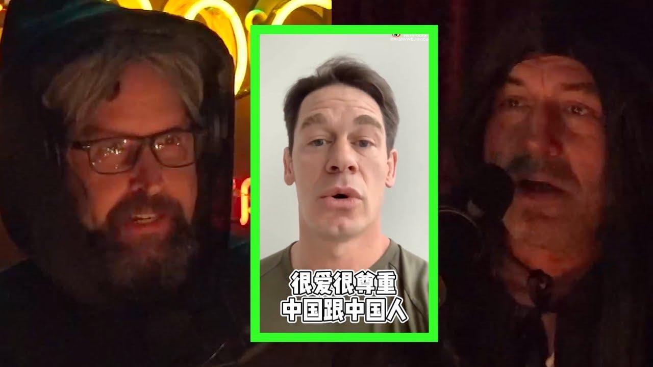John Cena Apologizing to China Signifies Cultural Shift