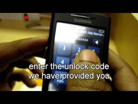 How to Unlock Garmin Nuvifone G60 Att T-Mobile - Unlock Kings