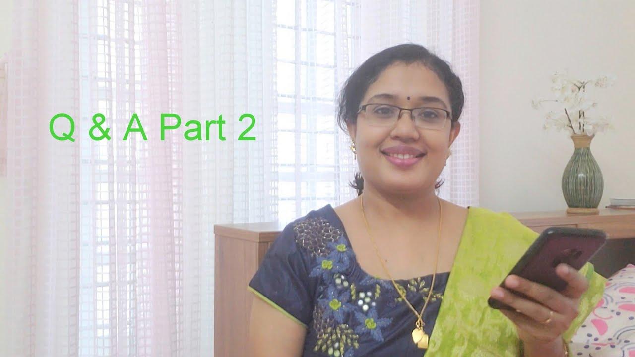 Q & A Part 2  Anu's Kitchen