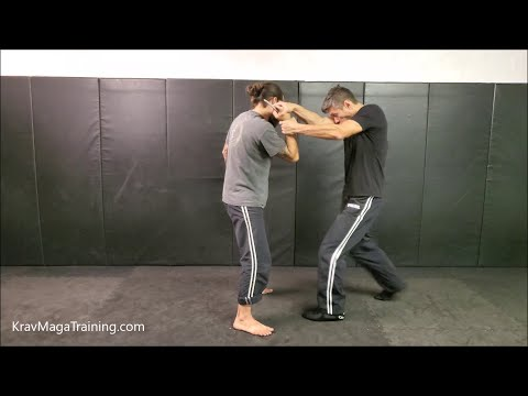 Krav Maga - Edged-Weapon Threats From The Front (Control Training Tips)