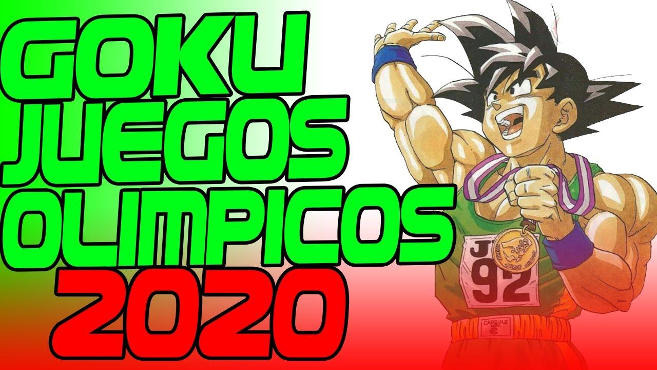 Goku Sera Embajador Oficial De Los Juegos Olimpicos De 2020 Youtube