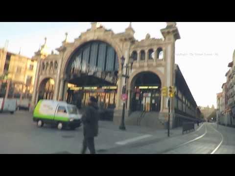 Zaragoza Central  Market Cesar-Augusto-Street-Saragossa in Spain 2