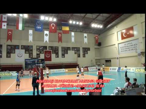 Hungary, Georgia Stars Women's Volleyball Team, 2015 CEV,Alanya-TURKEY.
