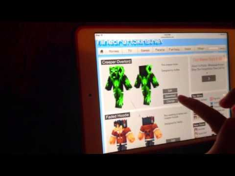 How To Get Minecraft Skins For IPad YouTube - Minecraft skins fur ipad