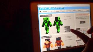 How to get Minecraft Skins for iPad!! Resimi