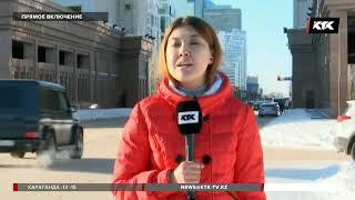 Полицейского, протаранившего ворота Акорды, уволили
