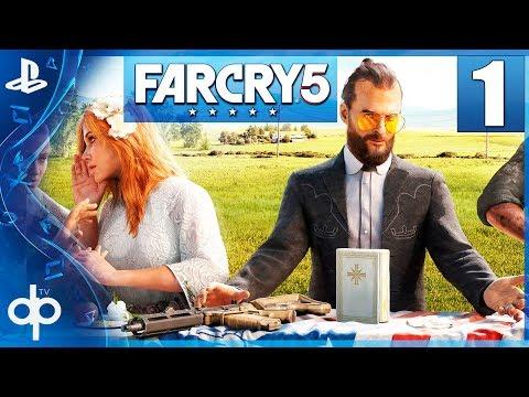 Far Cry 5 Parte 1 Gameplay Español PS4 PRO | Prologo - Capitulo 1 La Secta Edenista  1080p