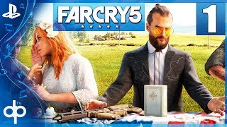 Far Cry 5 Parte 1 Gameplay Español PS4 PRO | Prologo - Capitulo 1 La Secta Edenista  1080p