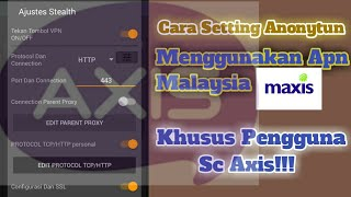 Tutorial Setting Vpn Maxis | Kumpulan Tutorial Edit Vsco