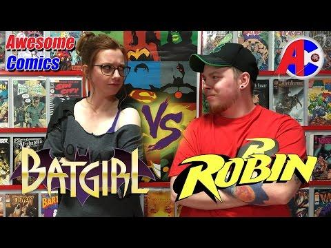 Batgirl vs Robin - Awesome Comics