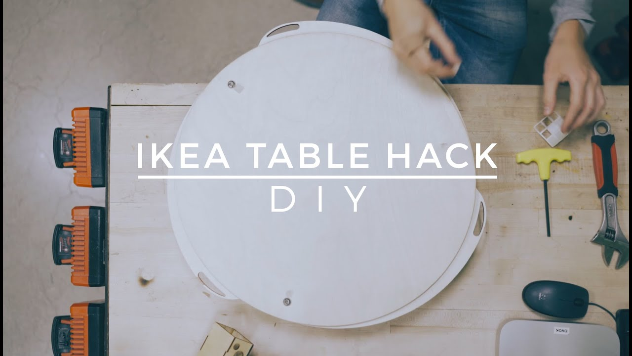 DIY IKEA Table Hack