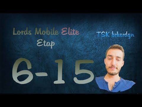 Lords Mobile Elite Etap 6-15