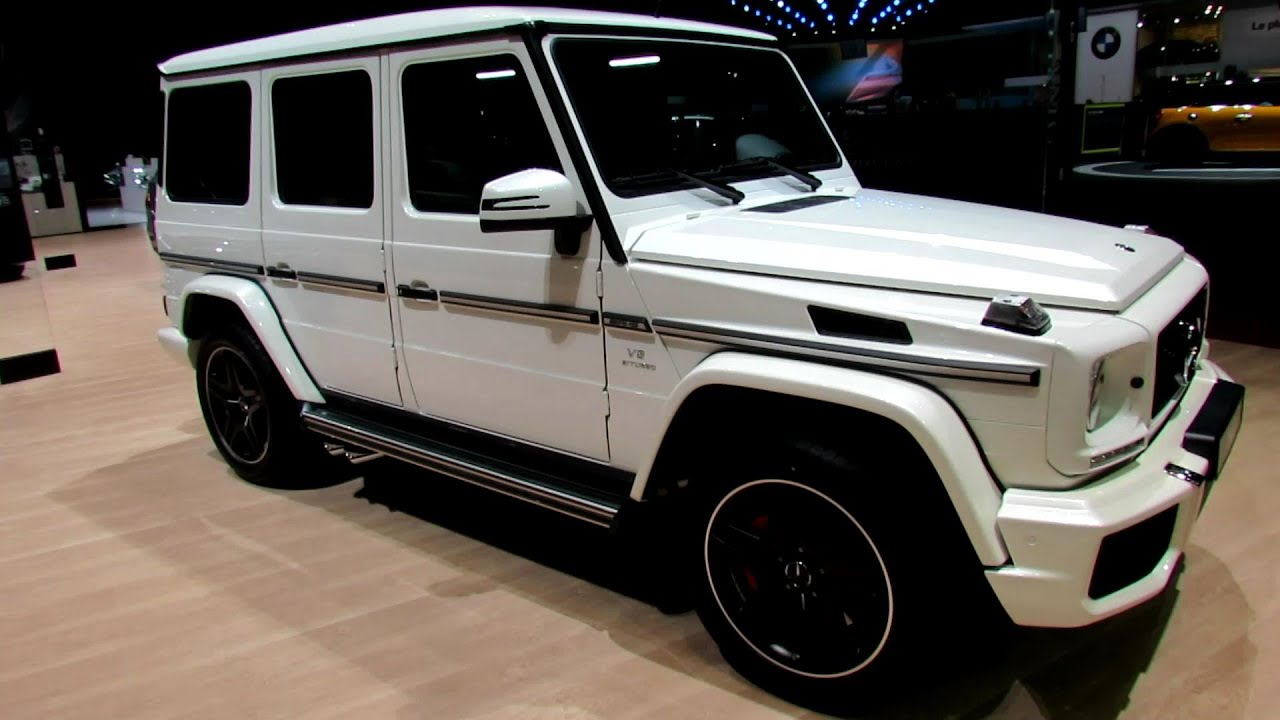 2014 mercedes benz g class g63 amg exterior and interior walkaround 2014 geneva motor show youtube - Mercedes G Interior 2015