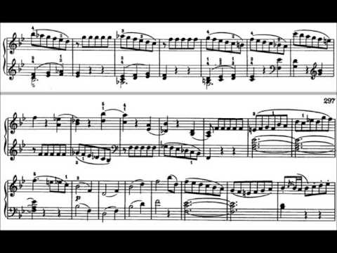 Sonata in B Flat Major, K. 570 1st mvmt Allegro by W.A. Mozart