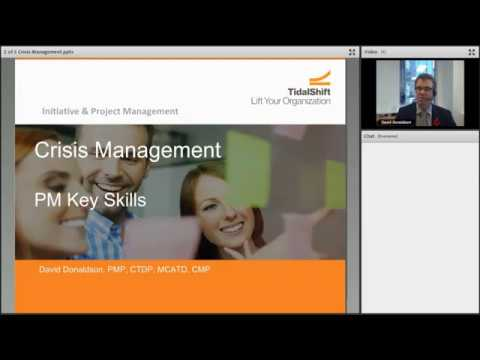 Key PM Skills Webinar: Crisis Management