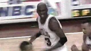Bulls vs Suns 1993 Finals - Game 3 - Triple Overtime, Michael Jordan 44 points