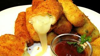 Очень ВКУСНАЯ Закуска за СЧИТАННЫЕ МИНУТЫ Картофельные палочки с сыром Сырные палочки