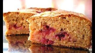 Сладкий пирог на кефире, быстрый пирог!!!