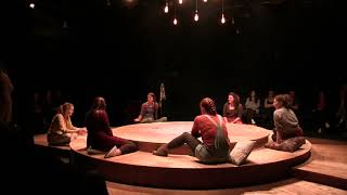 Clips from On Us : Feminist song and improvised scene 'First times'.