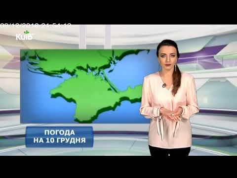 Телеканал Київ: Погода на 10.12.18