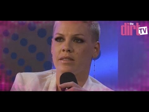 What Makes Pink Cry And Who Is Her Celebrity Crush! - The Dirt TV