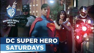DC Super Hero Saturdays at Warner Bros. World Abu Dhabi
