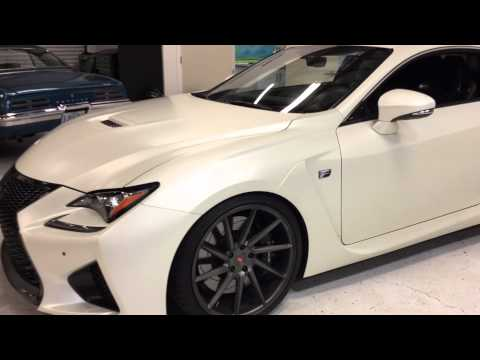 2015 Lexus RCF Color Change