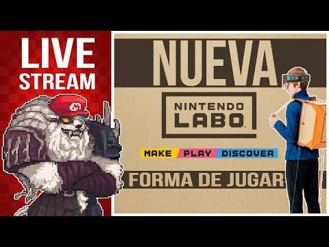 Nintendo Labo  Switch nuevo anuncio - Una nueva forma de jugar   Live Stream