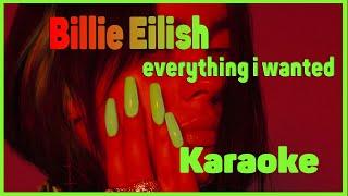 Billie Eilish - everything i wanted (Karaoke)