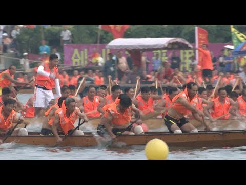 Dragon Boat Races Held across China to Mark Duanwu Festival