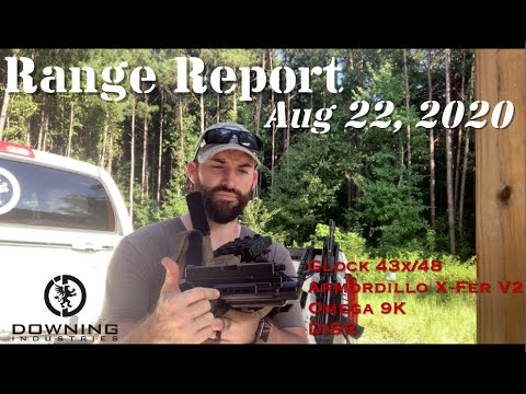 Range Report 8-22-20