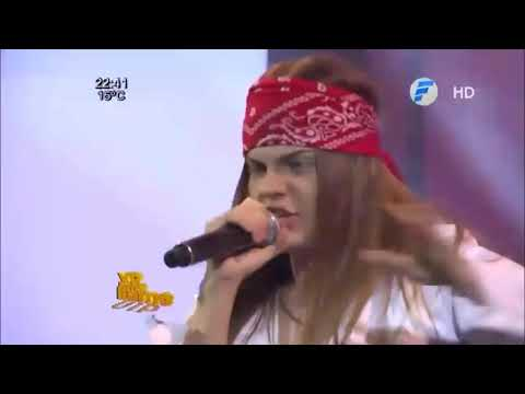 Axl Rose 'KW vs ASLI' || Welcome To The Jungle