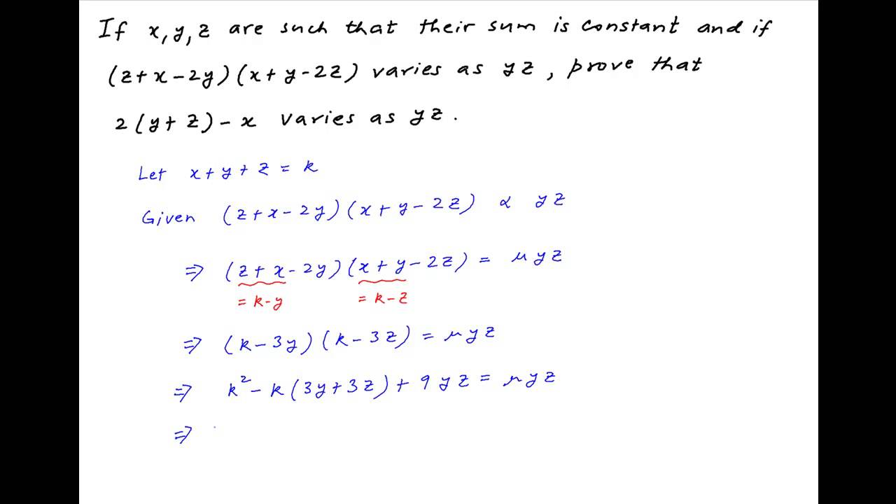 �yf�y�y��y>{��Z[_Provethat2(y+z)-xvariesasyzif(z+x-2y)(x+y-2z)variesasyzandsumofx,y,z