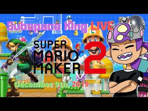 Mario Maker Mondays #11, Version 2.0 Update | Super Mario Maker 2 Live With Subspaceking