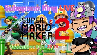 Mario Maker Mondays #11, Version 2.0 Update | Super Mario Maker 2 Live with Subspaceking