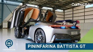 The 1,900 Horsepower All-Electric Pininfarina Battista GT